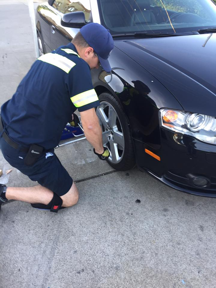 flat tire replacement in Ashburn VA